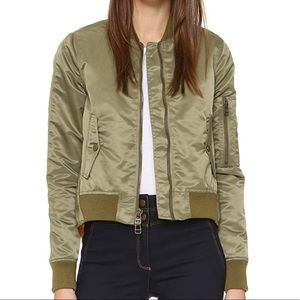 Veronica Beard Hampton Flight Jacket